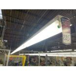 Row of Shop Lighting, Approx. 90' Length