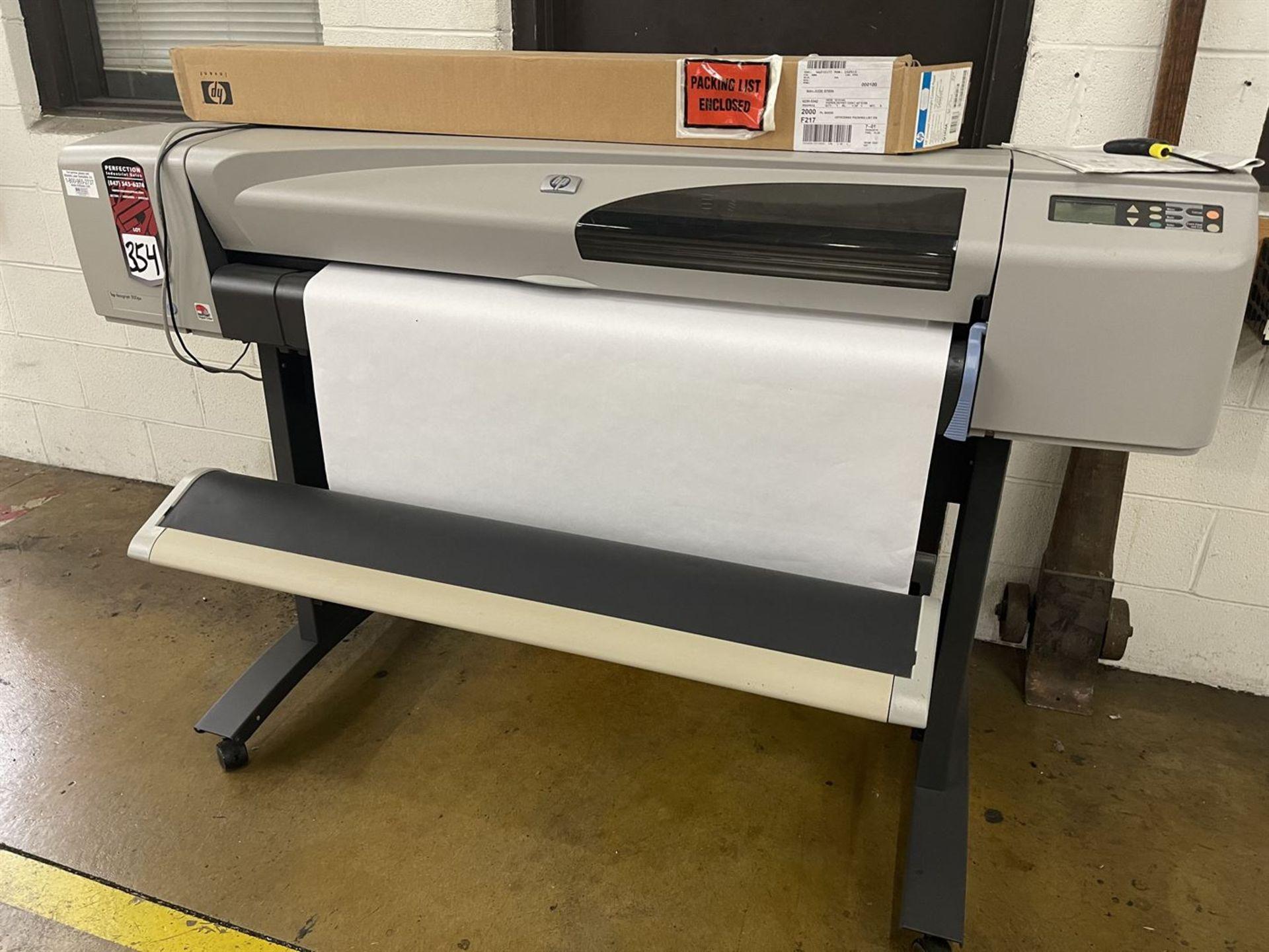 HP DesignJet 500ps Large Format Printer, s/n SG3CF66108B