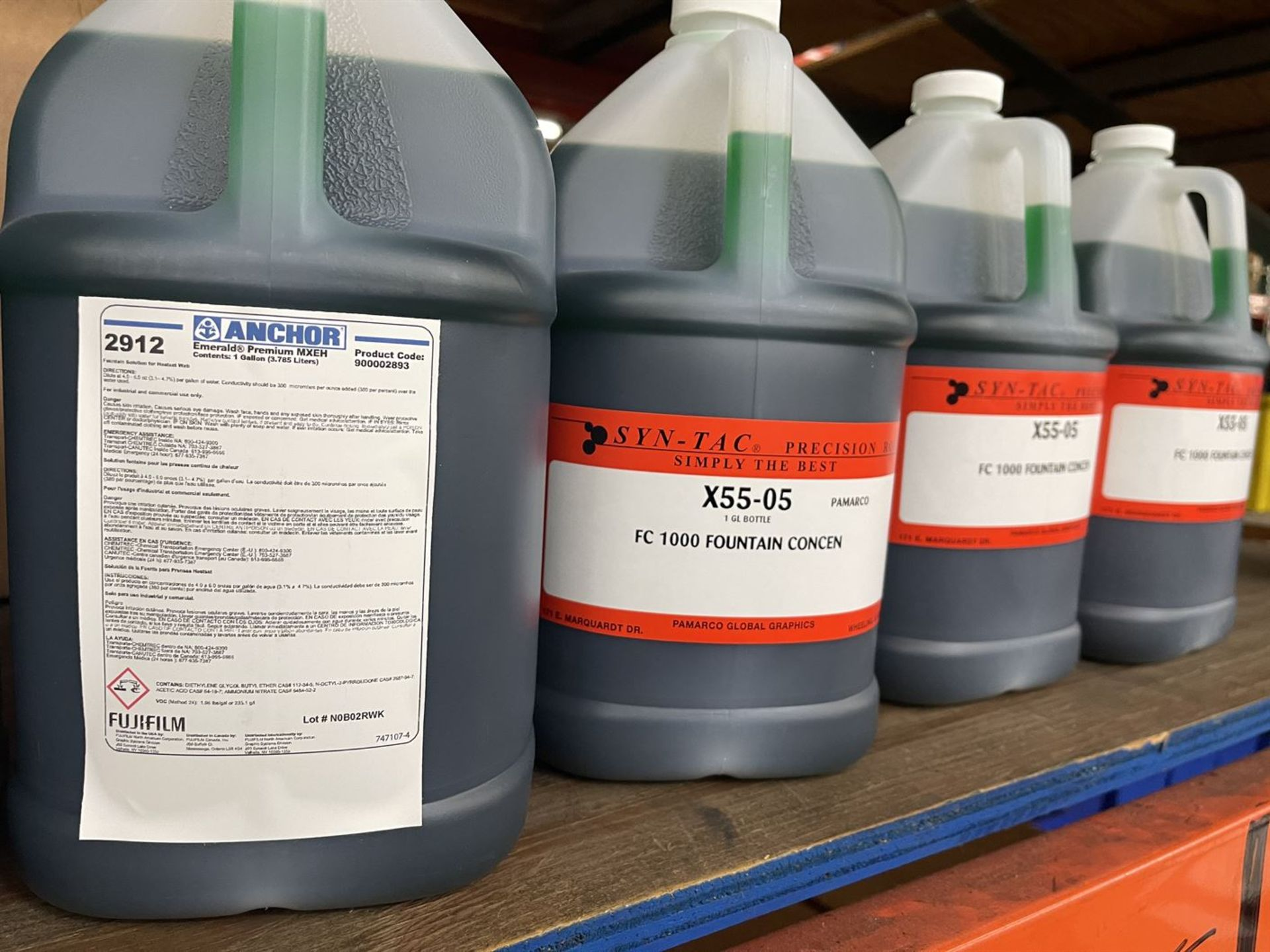 Lot of Assorted Printing Chemicals Including CMP Syn-Tac Pressroom Maintenance Kits, MP 2000 Poly - Image 5 of 5