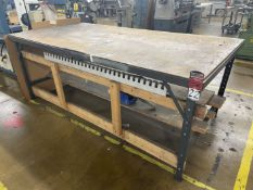 "Steel Table, 48"" x 96"""