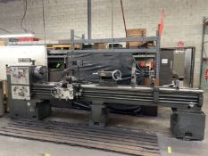 """SUMMIT 20"""" x 120"""" Lathe, s/n D07026, 22"""" Swing, 120"""" Between Centers, 12"""" 3-Jaw Chuck, Tool Post,"""