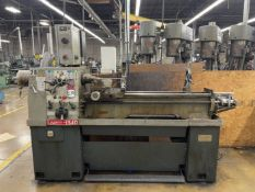 """LIBERTY 1340 Lathe, s/n 13490081510, 13"""" Swing, 40"""" Between Centers, Collet Nose, Steady Rest,"""