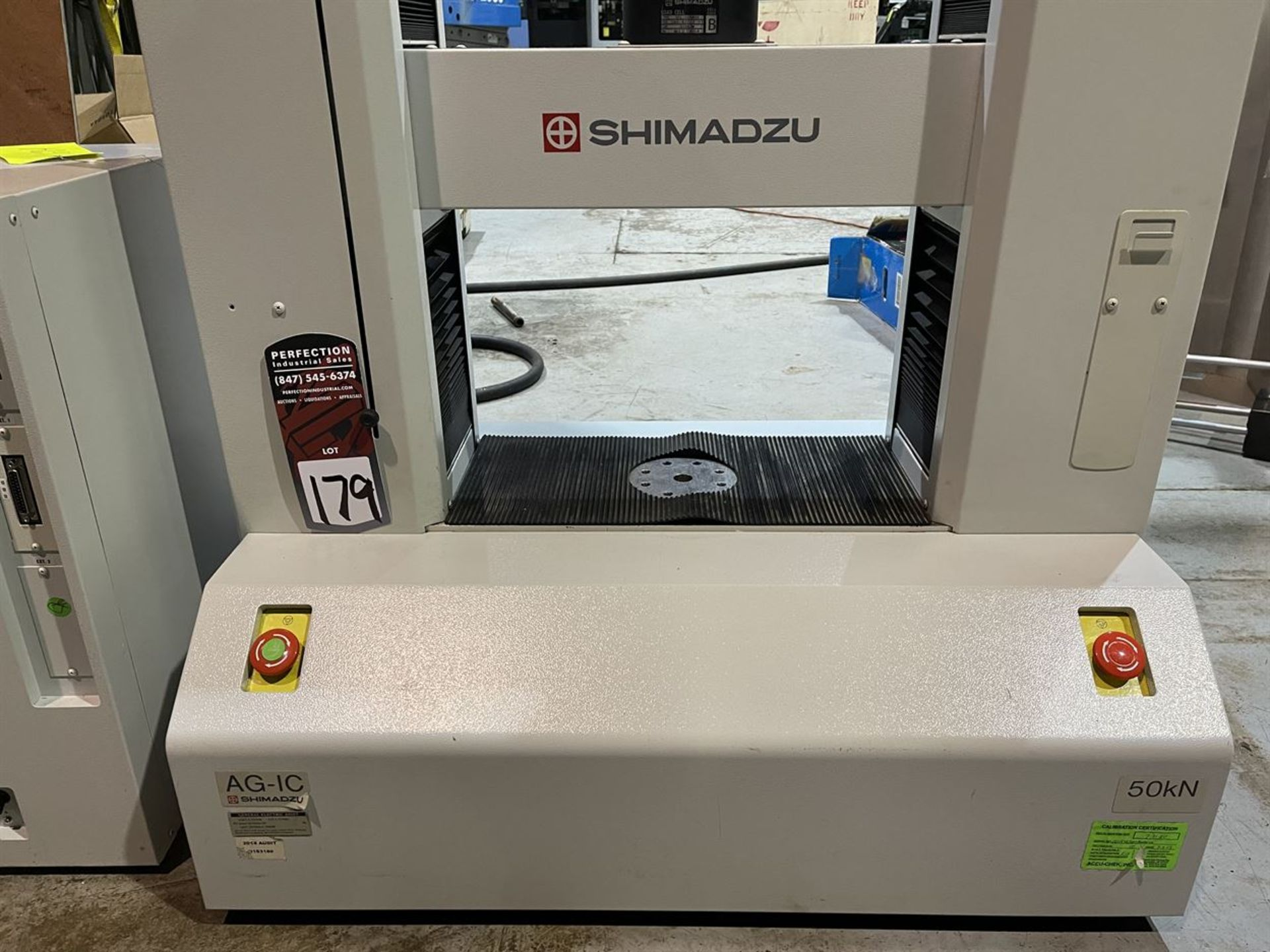 SHIMADZU AG-IC UNIVERSAL / TENSILE STRENGTH TESTER, s/n I30124936053, Autograph AG-IC Control/ - Image 3 of 5