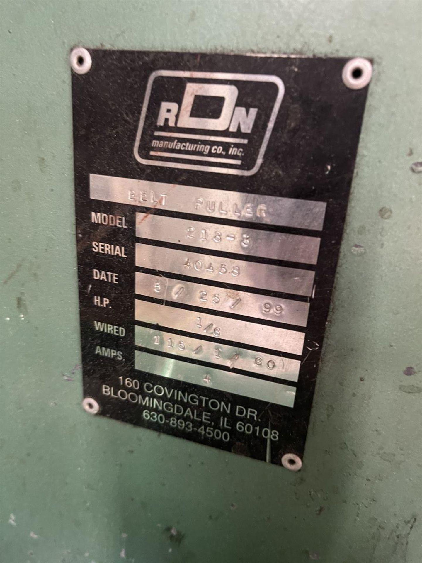 RDN 218-3 Puller, s/n 40458 - Image 5 of 5