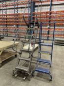 Lot Comprising BALLYMORE 7-Step and 4-Step Safety Ladders