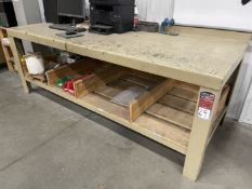 "Heavy Duty Steel Table, 96"" x 36"" (No Content)"