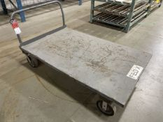 "Flatbed Shop Cart, 60"" x 36"""