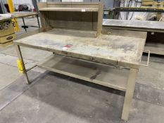 "Steel Work Bench, 72"" x 36"""