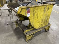 Approx. 3/4 Cu. Yd Self Dumping Hopper