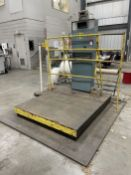 HOWE RICHARDSON 102/32000 Platform Scale, s/n 7010468, 6,000 Lb. Capacity, w/ GSE 350 Digital Read