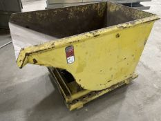 Approx. 1 Cu. Yd Self Dumping Hopper
