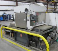 "2005 TIMESAVERS 3121-130-4 Wet Type 37"" Wide Belt Sander/Deburring Machine, s/n 29941, w/ E-700"