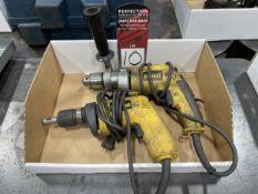 Lot Comprising DEWALT DW235G Drill and DEWALT DW250 Dry Wall Screw Gun