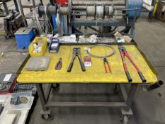 Cable Crimping Station w/ Tools and Hardware