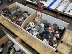 Lot of Assorted Hole Saws and NOTCH MASTER Hole Saw Fixture