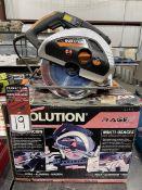 """EVOLUTION Rage 230 9"""" Circular Sa w"""