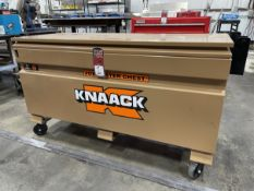 KNAACK 60 Jobmaster Chest (Used to Store Lot #63 HAAS Trunnion Table)