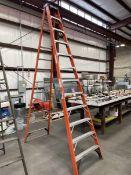 WERNER NXT1A12 12' Fiberglass Step Ladder