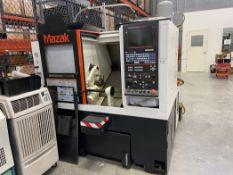 "2014 Mazak Quick Turn Smart 100S CNC Lathe, s/n 256994, Mazatrol Smart CNC, 6"" 3-Jaw Chuck, 12"