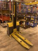 JUNGHEINRICH EMC110 Electric Walkie Stacker, s/n 90421901, 2200 Lb. Capacity