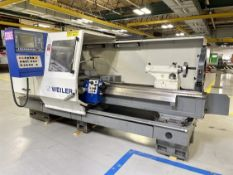 """2013 WEILER E50 x 2000 Controlled Engine Lathe, s/n IG05, WEILER Control, 18"""" 3-Jaw, 80"""" Centers,"""