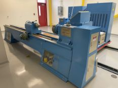 Power PTM-3040/03 Rubber Extruder/Roll Twisting Lathe System, w/ 15:1 Extruder, 300mm Max Swing