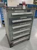 VIDMAR 6-Drawer Ball Bearing Tool Cabinet