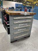 LYON 5-Drawer Ball Bearing Tool Cabinet