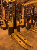 JUNGHEINRICH EMC110 Electric Walkie Stacker, s/n 90417988, 2200 Lb. Capacity