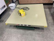 """Southworth Lift Table, 2,000 Lb Capacity, 48"""" x 48"""" Top"""
