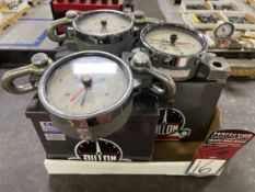 Lot of (3) DILLION Dynamometers
