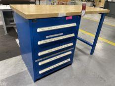 VIDMAR Work Bench w/ Ball Bearing Cabinet Base
