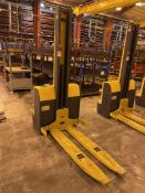 JUNGHEINRICH EMC110 Electric Walkie Stacker, s/n 90443769 , 2200 Lb. Capacity