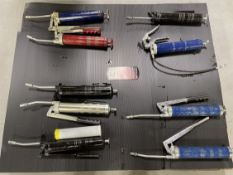 Lot of Assorted Grease Guns