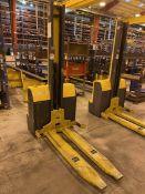 JUNGHEINRICH EMC110 Electric Walkie Stacker, s/n 90417987, 2200 Lb. Capacity