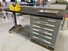 LYON Work Bench w/ Ball Bearing Cabinet Base
