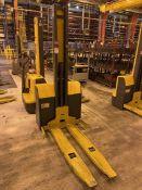 JUNGHEINRICH EMC110 Electric Walkie Stacker, s/n 90443767 , 2200 Lb. Capacity