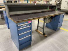LISTA Work Bench w/ Ball Bearing Cabinet Base