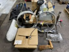 Lot Comprising Heating Elements, Lamps, Pumps, Fan and Blower