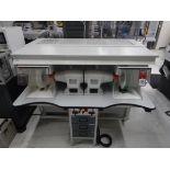 2018 CMZ BAZ Polishing System, s/n 644, w/ Twin HEBES Polishers
