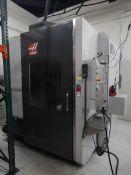 2014 HAAS UMC-750 5 Axis Vertical Machining Center, s/n 1115815, HAAS CNC Control