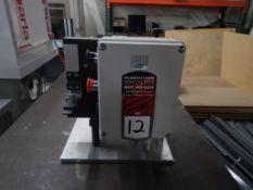 2018 SGM MTTE Temple Tip Crush Machine, s/n 015 EU 17