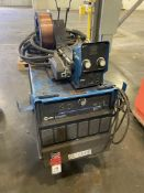 Miller Deltaweld 452 on Cart with 70 Series Feed, s/n MC430223C