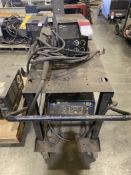 Miller XMT 456 cc/cv Welder on Cart with 60 Series Feed, s/n LF153289