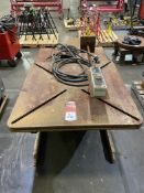 "2011 Preston Eastin PA30-HD6 Welding Positioner, 36""x36"" Table, Tilt and Rotate, Variable Speed, s/n"