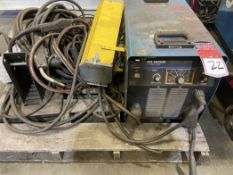 Miller XMT 456 CC/CV Welder with 60 Series Feed and Misc, s/n LF166151