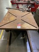 "1999 Preston Eastin PA30HD-6 welding Positioner, 36"" x 36"" Table, Tilt and Rotate, Variable Speed,"