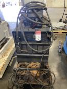 Miller Deltaweld 652 on Cart with 60 Series Feed, s/n LC336415