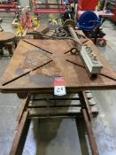 "2001 Preston Eastin PA30-HD6 Welding Positioner, 36""x36"" Table, Tilt and Rotate, Variable Speed, s/n"