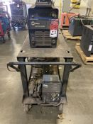 Miller XMT 304 CC/CV Welder with 60 Series Feed and Cart, s/n LA32_441`